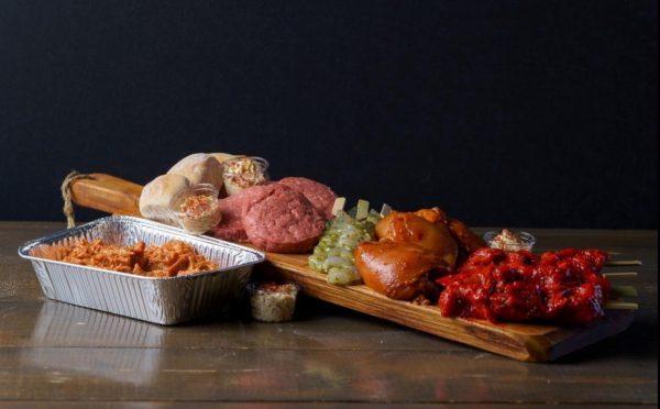 BBQ pakket thuisbezorgd barbecue thuis