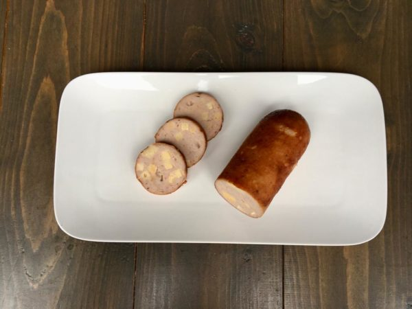 grillworst met kaas BBQ de Purmer